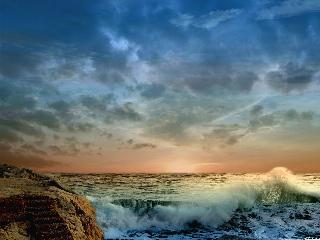 Черное море и каспийское